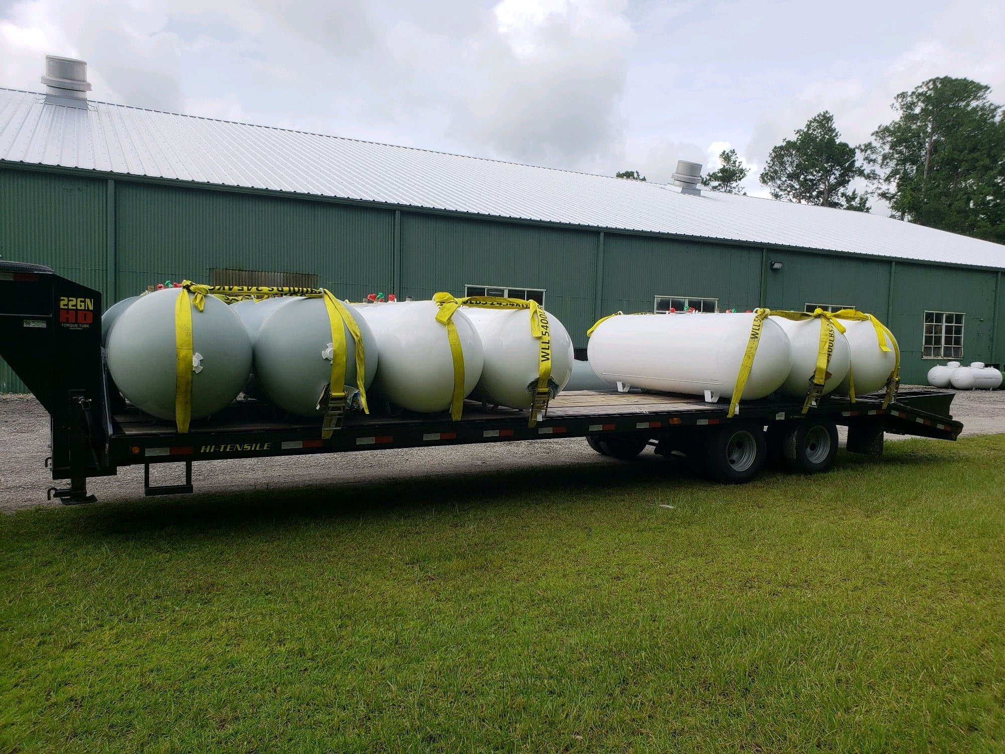 Equipment Hauling $3 per loaded mile